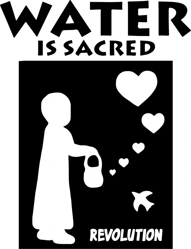 waterissacredgirlteeshirt